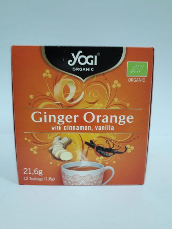 yogi ginger orange 12