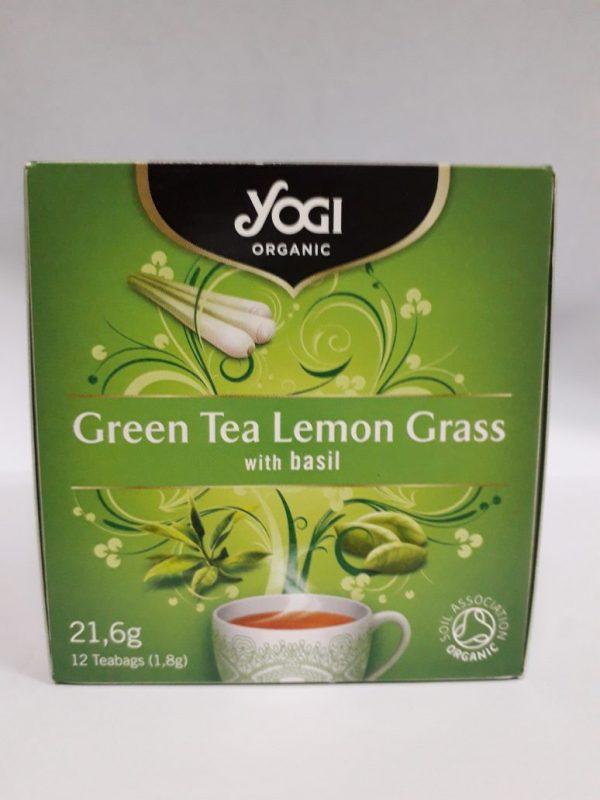 yogi green tea lemongrass