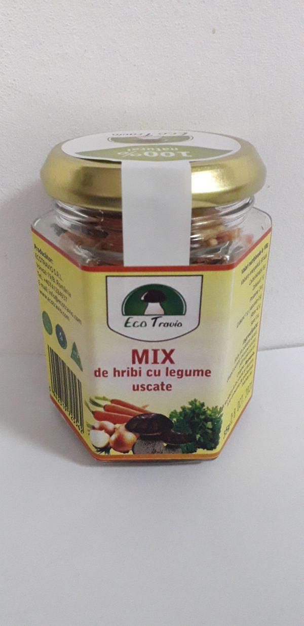 mix hribi legume